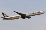テクノジャンボさんが、成田国際空港で撮影したシンガポール航空 777-312/ERの航空フォト(写真)