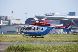 kumagorouさんが、仙台空港で撮影した川崎市消防航空隊 BK117C-2の航空フォト(飛行機 写真・画像)