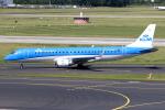 KAW-YGさんが、デュッセルドルフ国際空港で撮影したKLMシティホッパー ERJ-190-100(ERJ-190STD)の航空フォト(写真)
