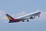 yabyanさんが、中部国際空港で撮影したアシアナ航空 767-38Eの航空フォト(写真)