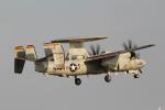 とらとらさんが、厚木飛行場で撮影したアメリカ海軍 E-2D Advanced Hawkeyeの航空フォト(写真)