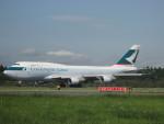 LEGACY-747さんが、成田国際空港で撮影したキャセイパシフィック航空 747-412(BCF)の航空フォト(飛行機 写真・画像)