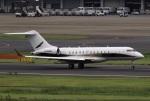 スポット110さんが、羽田空港で撮影した華捷商務航空 BD-700-1A10 Global Expressの航空フォト(写真)