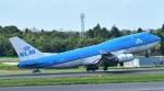 kamerajiijiさんが、成田国際空港で撮影したKLMオランダ航空 747-406Mの航空フォト(写真)