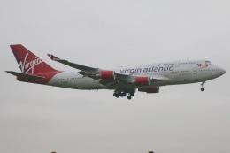 たみぃさんが、ロンドン・ガトウィック空港で撮影したヴァージン・アトランティック航空 747-443の航空フォト(飛行機 写真・画像)