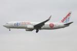 たみぃさんが、ロンドン・ガトウィック空港で撮影したエア・ヨーロッパ 737-85Pの航空フォト(写真)