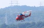 ぷぅちゃんさんが、岡山空港で撮影した岡山県消防防災航空隊 412EPの航空フォト(写真)
