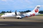 Kuuさんが、鹿児島空港で撮影した日本エアコミューター ATR-42-500の航空フォト(飛行機 写真・画像)