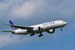 パンダさんが、成田国際空港で撮影したユナイテッド航空 777-224/ERの航空フォト(写真)