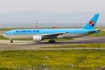 まくろすさんが、関西国際空港で撮影した大韓航空 777-2B5/ERの航空フォト(写真)