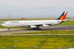 まくろすさんが、関西国際空港で撮影したフィリピン航空 A340-313Xの航空フォト(飛行機 写真・画像)