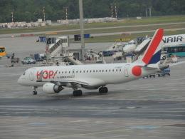 美月推しさんが、フランクフルト国際空港で撮影したエールフランス・オップ! ERJ-190-100 LR (ERJ-190LR)の航空フォト(飛行機 写真・画像)