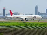 SGR RTさんが、成田国際空港で撮影した日本航空 777-346/ERの航空フォト(写真)
