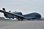 はるかのパパさんが、横田基地で撮影したアメリカ空軍 RQ-4 Global Hawkの航空フォト(写真)