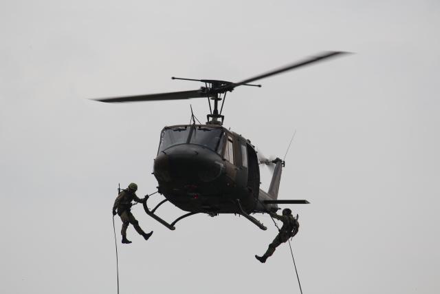 kageさんが、久留米駐屯地で撮影した陸上自衛隊 UH-1Jの航空フォト(飛行機 写真・画像)