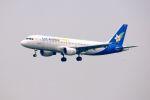 まいけるさんが、スワンナプーム国際空港で撮影したラオス国営航空 A320-214の航空フォト(写真)