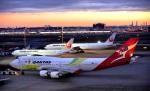 kamerajiijiさんが、羽田空港で撮影したカンタス航空 747-438/ERの航空フォト(写真)