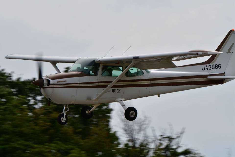 canaanさんの第一航空 Cessna 172 (JA3986) 航空フォト