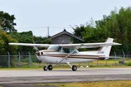 canaanさんが、佐渡空港で撮影した第一航空 172P Skyhawk IIの航空フォト(飛行機 写真・画像)
