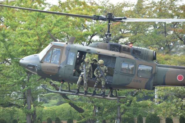 canaanさんが、仙台駐屯地で撮影した陸上自衛隊 UH-1Jの航空フォト(飛行機 写真・画像)