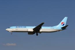 MOHICANさんが、福岡空港で撮影した大韓航空 737-9B5の航空フォト(写真)