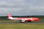 ATOMさんが、新千歳空港で撮影したエアアジア・エックス A330-343Eの航空フォト(飛行機 写真・画像)
