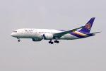 まいけるさんが、スワンナプーム国際空港で撮影したタイ国際航空 787-8 Dreamlinerの航空フォト(写真)