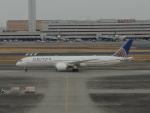 さゆりんごさんが、羽田空港で撮影したユナイテッド航空 787-9の航空フォト(写真)