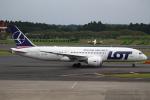 セブンさんが、成田国際空港で撮影したLOTポーランド航空 787-8 Dreamlinerの航空フォト(飛行機 写真・画像)