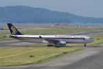 yabyanさんが、関西国際空港で撮影したシンガポール航空 A330-343Xの航空フォト(飛行機 写真・画像)