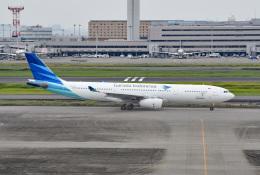 tsubasa0624さんが、羽田空港で撮影したガルーダ・インドネシア航空 A330-343Xの航空フォト(飛行機 写真・画像)