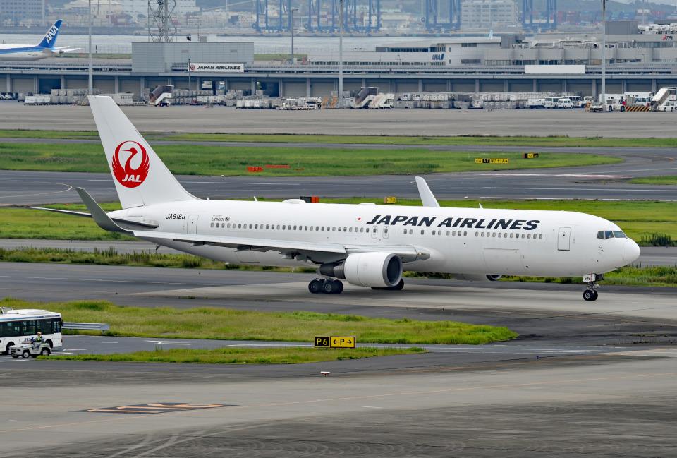 tsubasa0624さんの日本航空 Boeing 767-300 (JA618J) 航空フォト