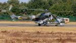 C.Hiranoさんが、クライネ・ブローゲル空軍基地で撮影したチェコ空軍 Mi-35の航空フォト(写真)