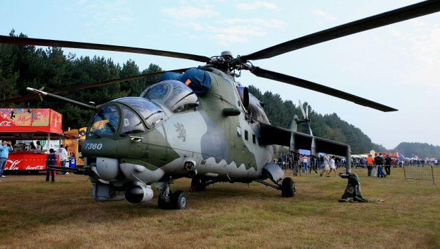 cathay451さんが、ベーフェルロ空軍基地で撮影したチェコ空軍 Mi-35の航空フォト(飛行機 写真・画像)