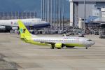 yabyanさんが、関西国際空港で撮影したジンエアー 737-8B5の航空フォト(写真)