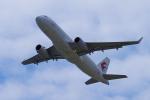 yabyanさんが、関西国際空港で撮影した中国東方航空 A320-232の航空フォト(飛行機 写真・画像)