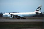 ATOMさんが、帯広空港で撮影したキャセイパシフィック航空 A340-313Xの航空フォト(写真)