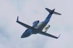 yabyanさんが、関西国際空港で撮影したホンダ・エアクラフト・カンパニー HA-420の航空フォト(飛行機 写真・画像)