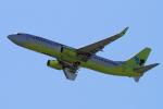 yabyanさんが、関西国際空港で撮影したジンエアー 737-8B5の航空フォト(飛行機 写真・画像)