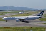 yabyanさんが、関西国際空港で撮影したキャセイパシフィック航空 A330-343Xの航空フォト(飛行機 写真・画像)