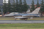 RCH8607さんが、横田基地で撮影したアメリカ空軍 F-16DM-50-CF Fighting Falconの航空フォト(写真)