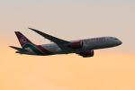 まいけるさんが、スワンナプーム国際空港で撮影したケニア航空 787-8 Dreamlinerの航空フォト(写真)