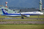 こーき747さんが、小松空港で撮影した全日空 A321-211の航空フォト(写真)