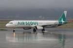 職業旅人さんが、関西国際空港で撮影したエアソウル A321-231の航空フォト(写真)