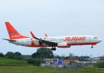 タミーさんが、成田国際空港で撮影したチェジュ航空 737-8ASの航空フォト(写真)