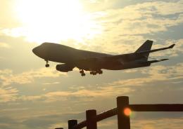 タミーさんが、成田国際空港で撮影したアトラス航空 747-4KZF/SCDの航空フォト(写真)