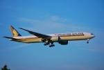あぽやんさんが、成田国際空港で撮影したシンガポール航空 777-312/ERの航空フォト(写真)