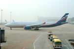 FlyHideさんが、北京首都国際空港で撮影したアエロフロート・ロシア航空 A330-343Xの航空フォト(写真)