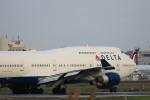 トラッキーさんが、成田国際空港で撮影したデルタ航空 747-451の航空フォト(写真)