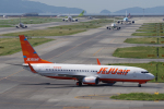 yabyanさんが、関西国際空港で撮影したチェジュ航空 737-8ASの航空フォト(飛行機 写真・画像)